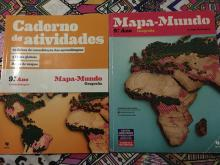 Mapa Mundo 9º ANO Manual + CA - Arlinda Rodrigues