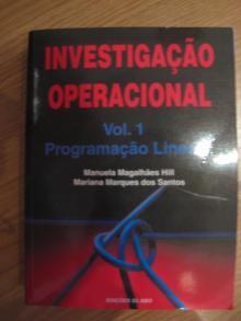 Investigação Operacional Vol I Programação Linear - Manuela Magalhães Hil