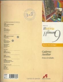 História do Homem 9, caderno auxiliar - Maria da Gloria Rod