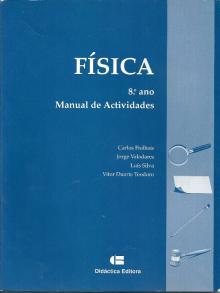 Física, manual de actividades - Carlos Fiolhais