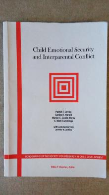 Child Emotional Security and Interparental Conflict - Davies, Patrick T.