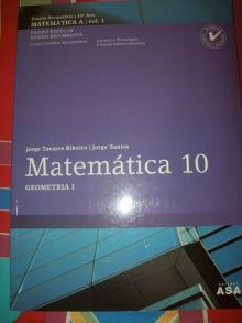 Matemática 10 - Geometria I - Jorge Tavares/Jorge San