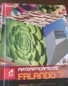 Livro Matematicamente falando 7 - de Alex