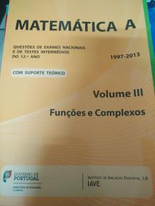 Matemática A Volume III - Gave
