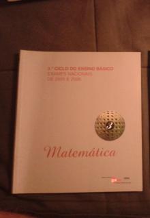 Gave: Exames Nacionais de 2005 e 2006 de Matemática - Gave