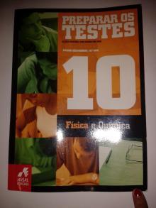 Preparar os testes Física e Química, Ensino secundário 10º ano - Alzira Finteiro, Ana So