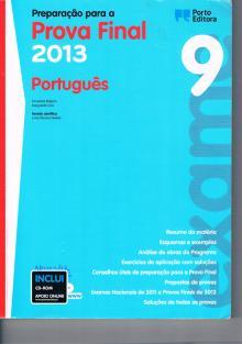 Preparação para a Prova Final 2013 Português - Fernanda Reigota, Mar