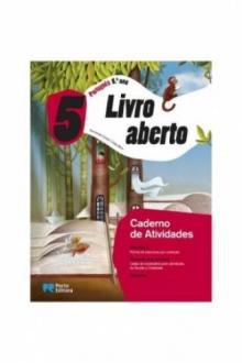 Livro aberto - Português - 5.º Ano (Caderno de Actividades) - Fernanda Costa, Lídia Bo...