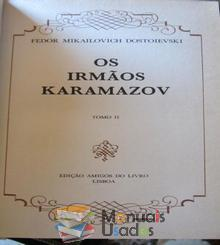 Os irmãos Karamazov Tomo 2 - Fedor M. Dos