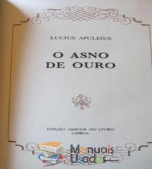 O Asno de Ouro - Lucius Apule