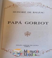 Papá Goriot - Honoré de B