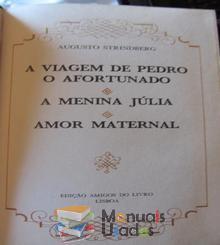 A Viagem de Pedro o Afortunado;A menina Julia; Amor maternal - Augusto Stri