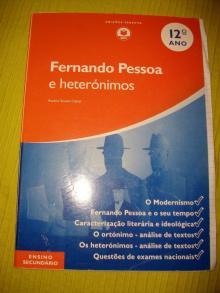 Fernando Pessoa e heterónimos - Avelino Soares Cabral...