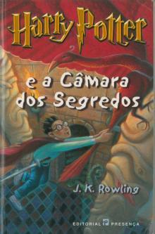 Harry Potter e a câmara dos segredos - J. K. Row