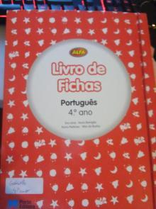 Alfa Livros de Fichas Português 4 - Eva Lima; Nuno Barrigão;...