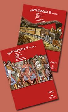 Novo História 8 - Manual + Caderno Actividades NOVOS - Francisco Canta