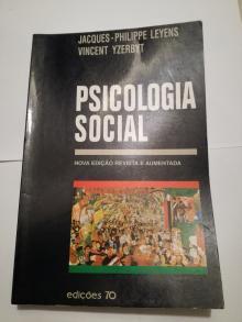 Psiologia Social - Nova Edição Revista e Aumentada - Jacques-philippe Leyens