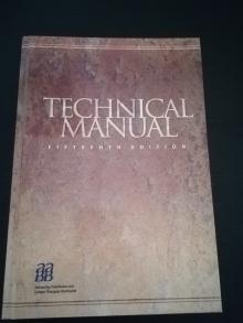 Technical Manual: AABB 15th Edition - Mark Brecher