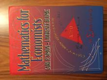 Mathematics for Economics, - Carl P. Simon, Lawrence B...
