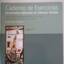 Mat. Aplic. C. Sociais - Cad. de exercícios