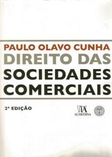 Direito das Sociedades Comerciais Paulo Olavo Cunha