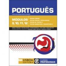 Livro Português módulos 9, 10, 11 e 12 cursos profissionais de nível secundário - Brigida Trindade, Cristi