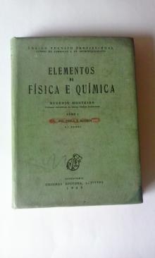 Elementos de Física e Química 1969 - Eugénio Monteiro