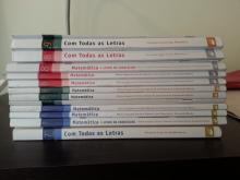 Livros Porto Editora Matemática e Português 7º/8º/9ºanos - varios