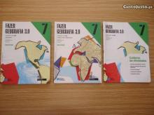FAZER GEOGRAFIA 3.0 2 livros + Caderno de Actividades + - Ana Gomes