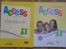Ingles ACCESS 1 student book+workbook - Virginia Ev