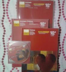 Antologia e Práticas Português 10º Ano + Livro do professor + CD Audio - Ana Garrido,