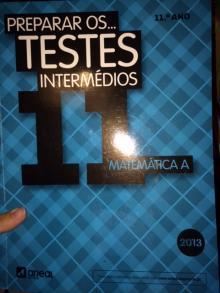 Preparar os testes intermedios matematica A 11º - varios