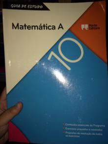 guia de estudo matematica A 10º ano - varios
