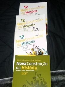 Nova Construção da História(3 volumes e caderno de act.) - Helena Veríssimo/Marian