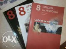 Oficina da História vol. 1 e 2 - Euclides Griné...