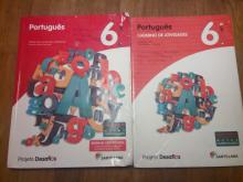 Livro e caderno de actividades de português - A