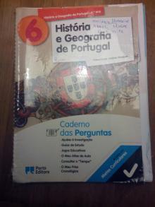 Livro de História e Geografia de Portugal 6º ano - A