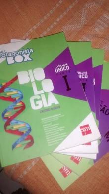 Ser Protagonista - Box Biologia - Vol. Único - JULIANE MATSUBARA BARROSO