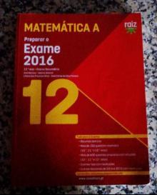 Preparar exame nacional de matemática A 12 raiz - Ana Martins