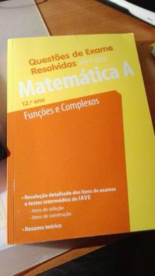 Questões de Exame Resolvidas Matemática A 12ºano Funções e Complexos - João de Sá Duarte