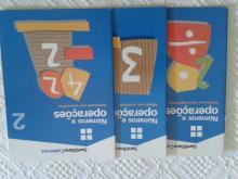 Livros de exercícios - Números e Operações 2, 3 e 10 - Cacilda Vilanova