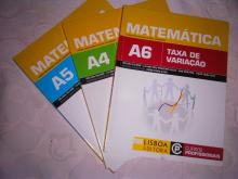 Curso profissional Matemática A4,A5 e A6 - Helena Salomé, Liliana d...