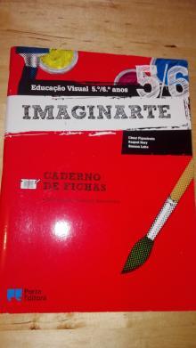 Educação visual 5º e 6º anos-Caderno de fichas - César Figueiredo