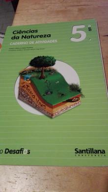 Caderno de actividades Ciências da Natureza 5ano - Isabel Caldas