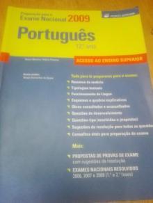 Livro de preparação para o exame nacional de Português 12º ano 2014