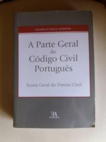 A Parte Geral do Código Civil Portugues - Heinrich Ewald Horster