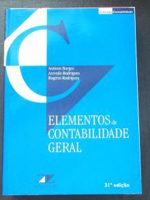 Elementos de Contabilidade Geral - António Borges, Azevedo ...