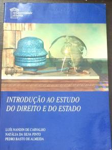Introdução ao Estudo do Direito e do Estado - Luís Nandin de Carvalho,...