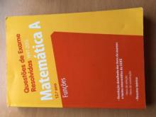 Matemática A. Questões de exame resolvidas. 1997-2015 Probabilidades e combinatória - Ideias de Ler