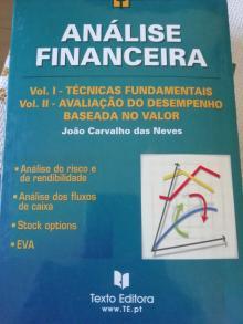 Análise Financeira PACK (2livros) Técnicas fundamentais+Avaliação de desempenho - João Carvalho das Neves